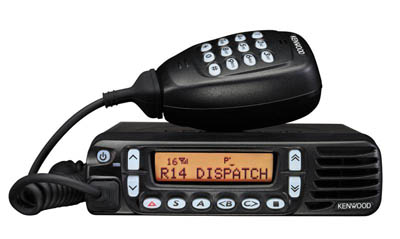 Kenwood Mobile Vehicle Two-Way Radio TK 7180/8180 Installed