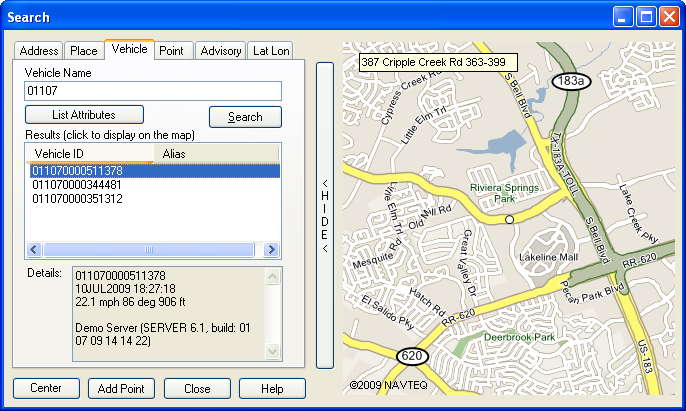 GPS Real Time Tracking Software Package Rastrac Hosted