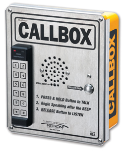 Emergency Call Intercom | Two Way Intercom System Ritron Callbox